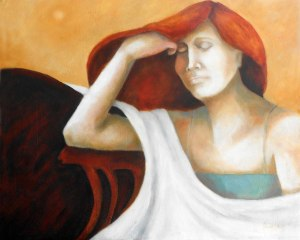 Morning Sun,oil on canvas (2015), 76x60 cm (24x30)